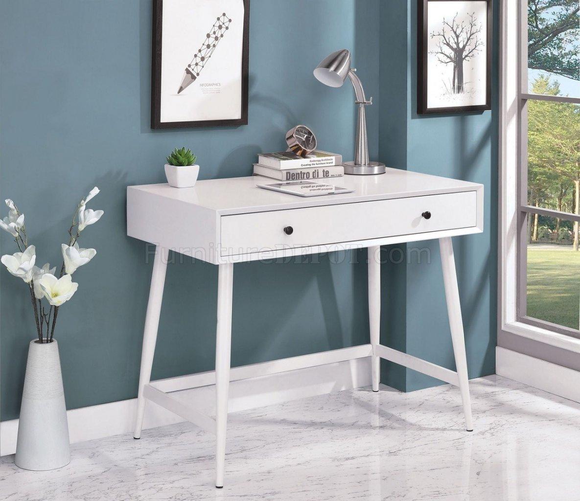 Frisco Modern Writing Desk CM-DK6542 in White