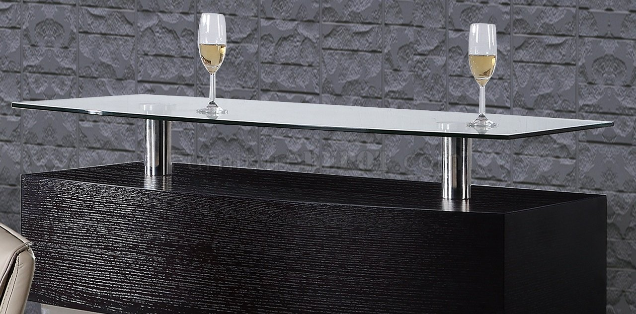 Dg072bt bar table in wenge by global w options - Table basse bar wenge ...
