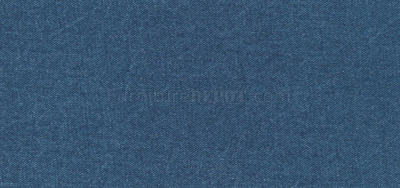 Blue Denim Fabric Modern Sofa & Loveseat Set w/Options