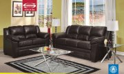 Chocolate Bonded Leather 50410 Bryn Sofa w/Options by Acme