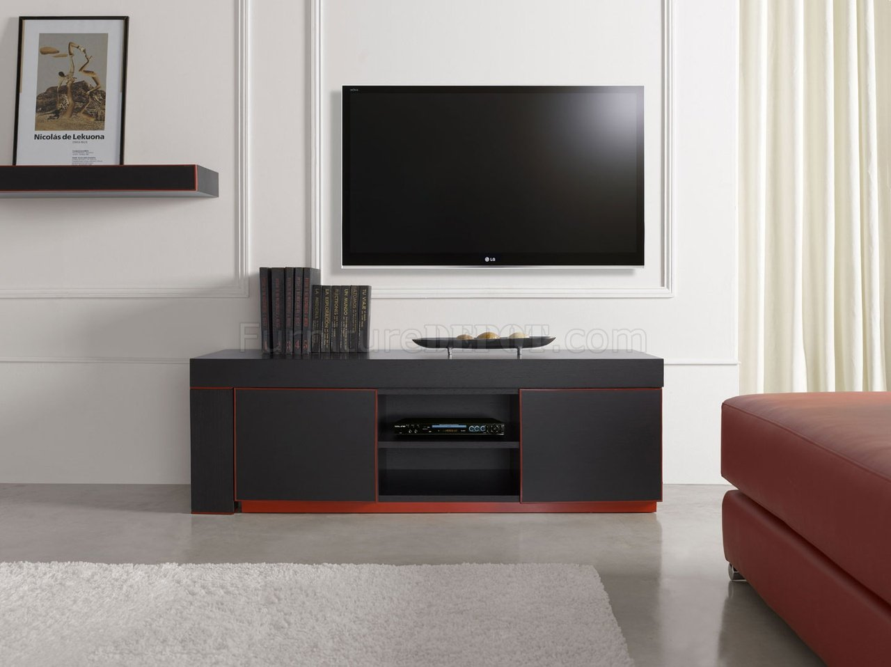 Enjoyable Inessa Tv Unit In Wenge By Esf Gmtry Best Dining Table And Chair Ideas Images Gmtryco