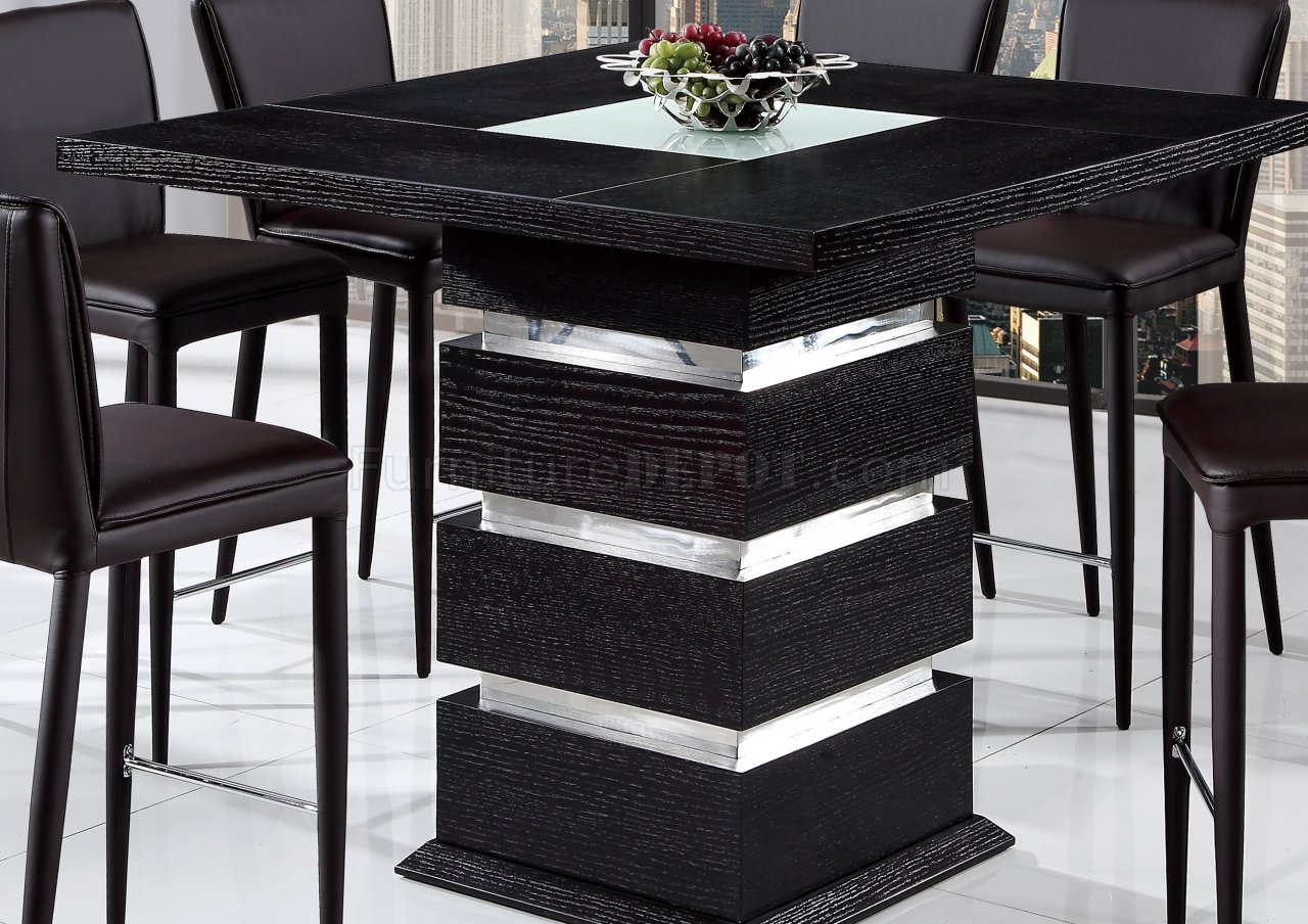 Dg072bt bar table in wenge by global with options - Table basse bar wenge ...