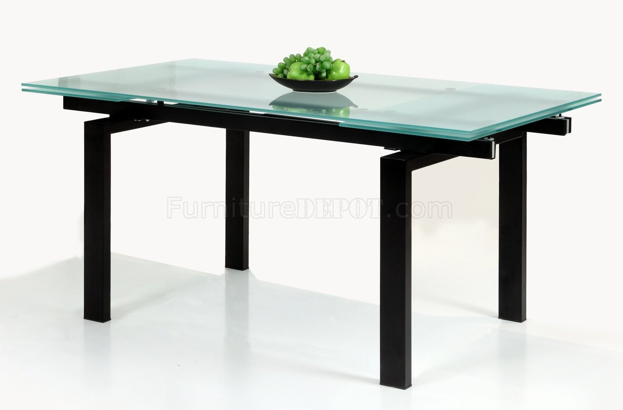Glass Table Extendable Top Modern Dining Table wOptional  : 568f00e13b5e5b4d90b54bfe3a64cb44image1280x843 from www.furnituredepot.com size 1280 x 843 jpeg 61kB