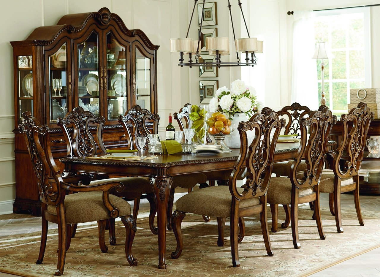Pemberleigh Dining Table 3100 by Legacy Furniture with Options