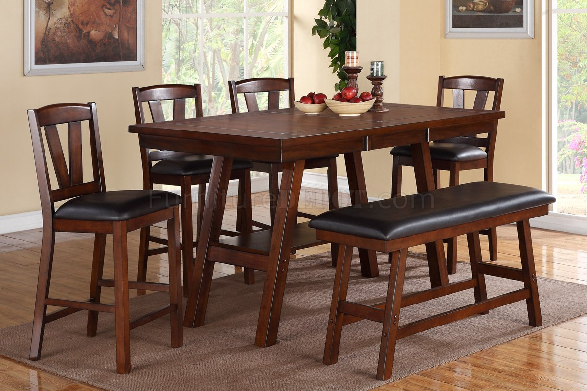 Poundex Dining Table Set