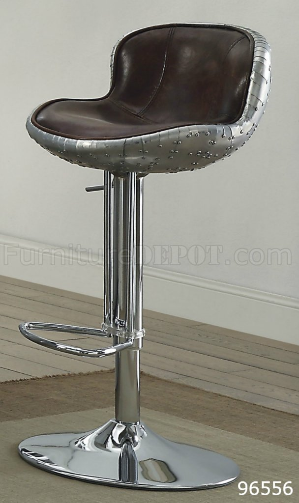 Brancaster Bar Table 70450 In Aluminum By Acme W Options