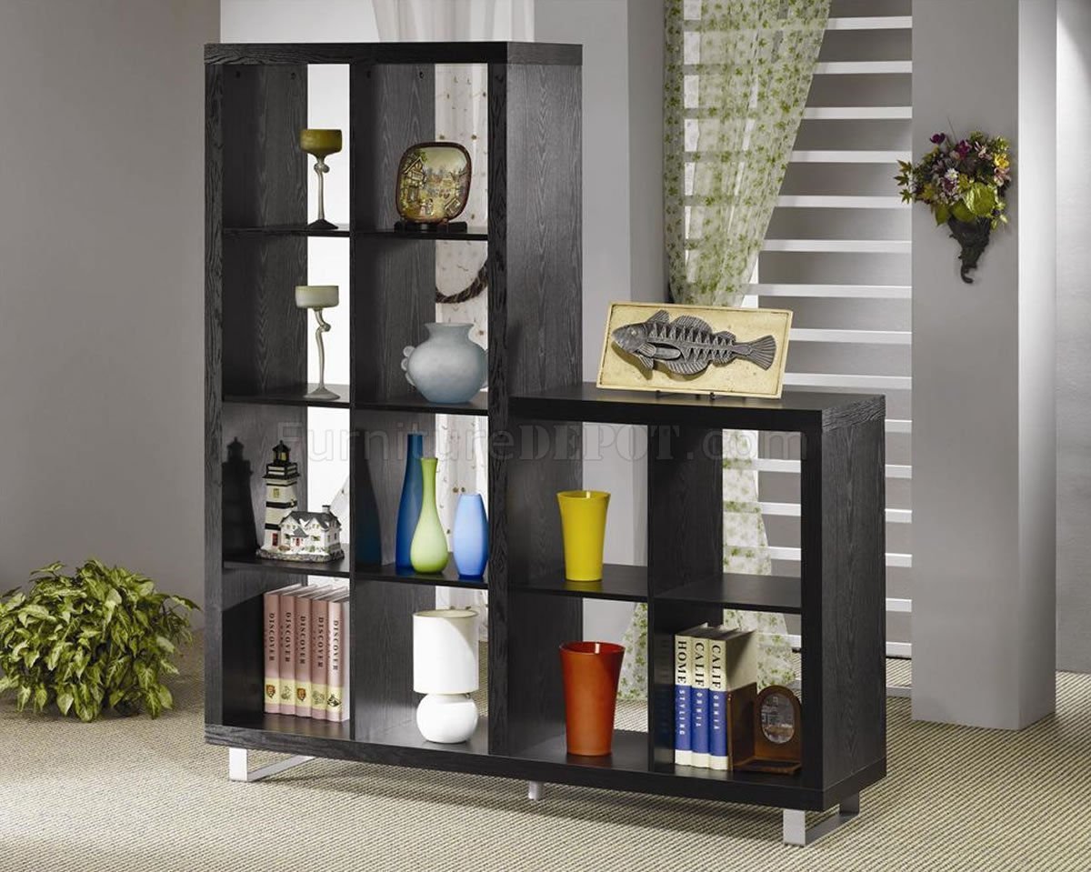 Asymmetrical Cube Bookcase with Shelves 1200 x 959