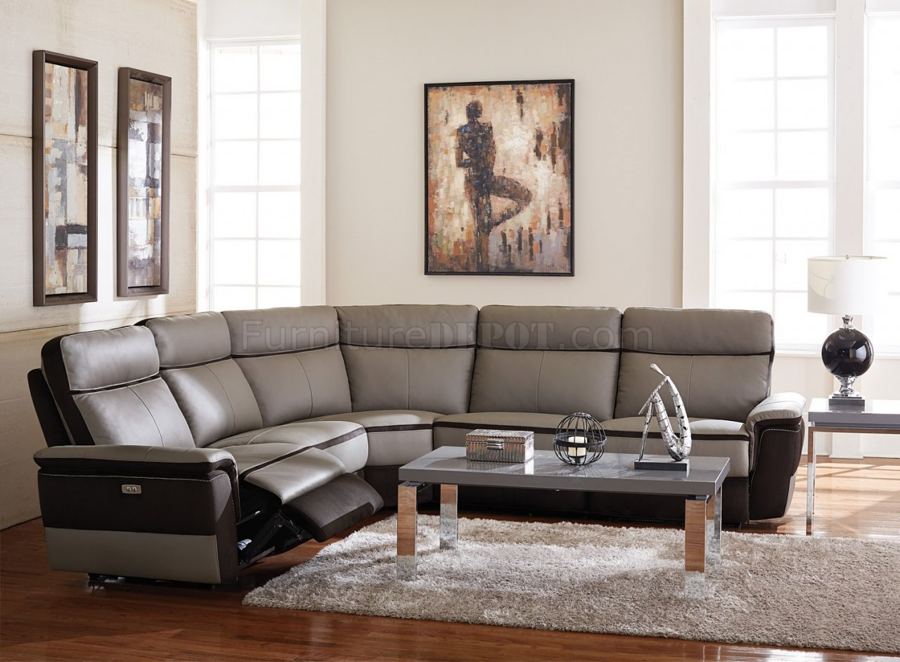 Laertes Power Motion Sectional Sofa By Homelegance
