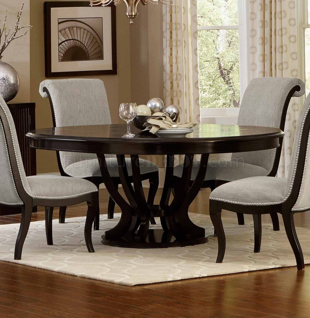 Savion Dining Table 5494 76 In Espresso By Homelegance W