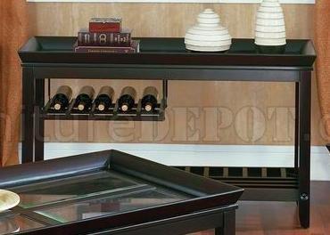 Glass Top Modern Coffee Table W Grid Support Shelf
