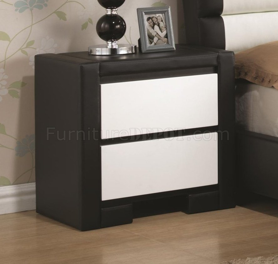 203331 Kimball Bedroom in Black   White by Coaster w Options. Kimball Bedroom in Black   White by Coaster w Options