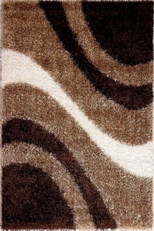 Modern M6006 Beige Brown Area Rug