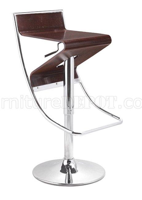 Miraculous Wenge Or Jazz Stripe Wooden Seat Bar Stool Uwap Interior Chair Design Uwaporg