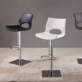 C203-3 Barstool Set of 2 Black, White or Brown Leatherette J&M