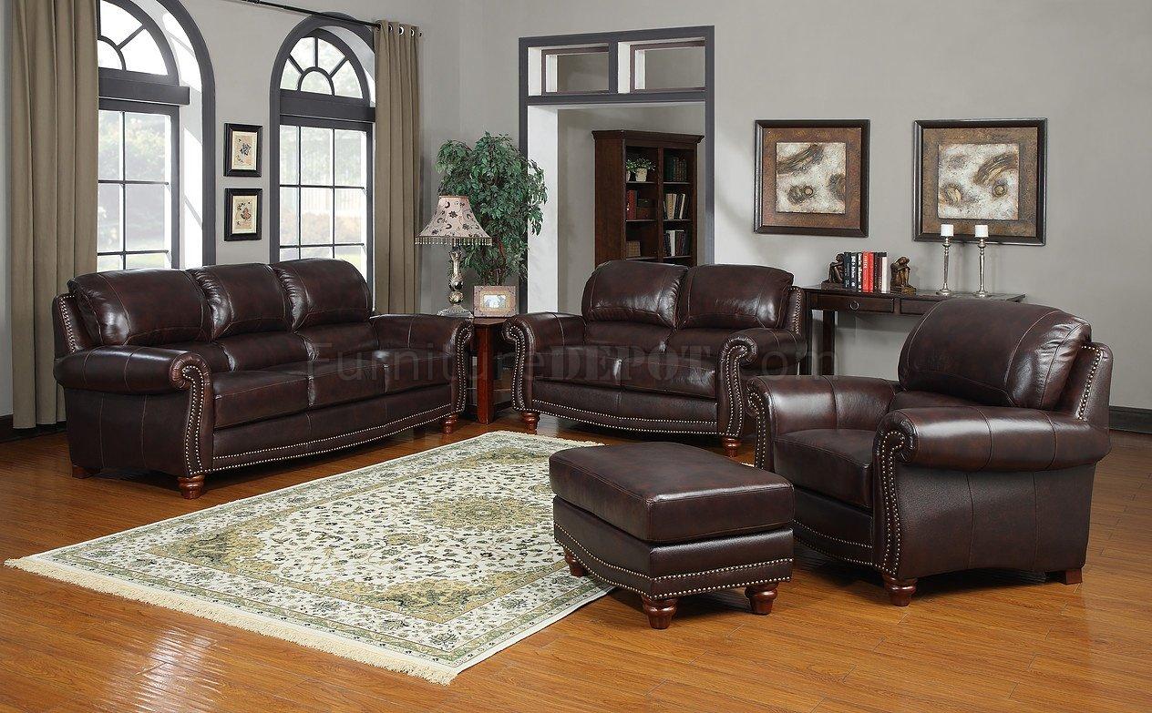 Bryce white italian leather sofa and loveseat 15814565 overstock -  Leather Italia Tobacco James Sofa Loveseat Set Woptions