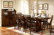 Everett 5381-36C Counter Height Dining Table by Homelegance