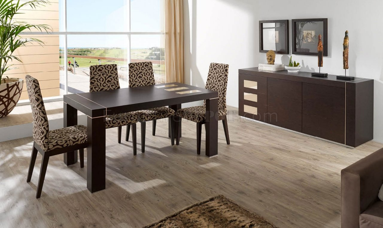 irene dining table fume beige w optional buffet side chairs efds