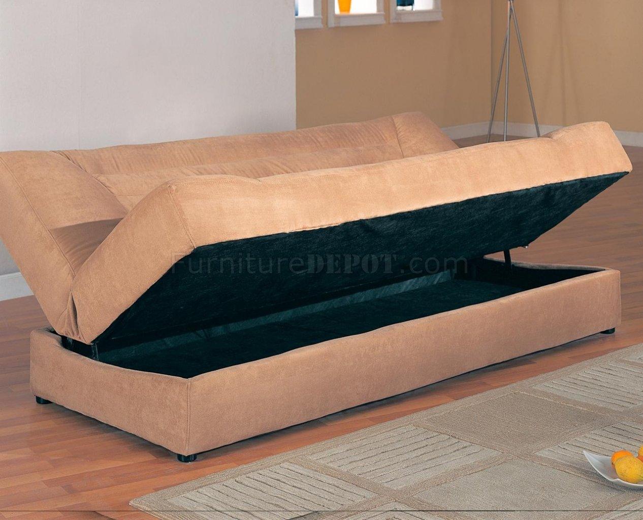 100 Microfiber Futon Sofa