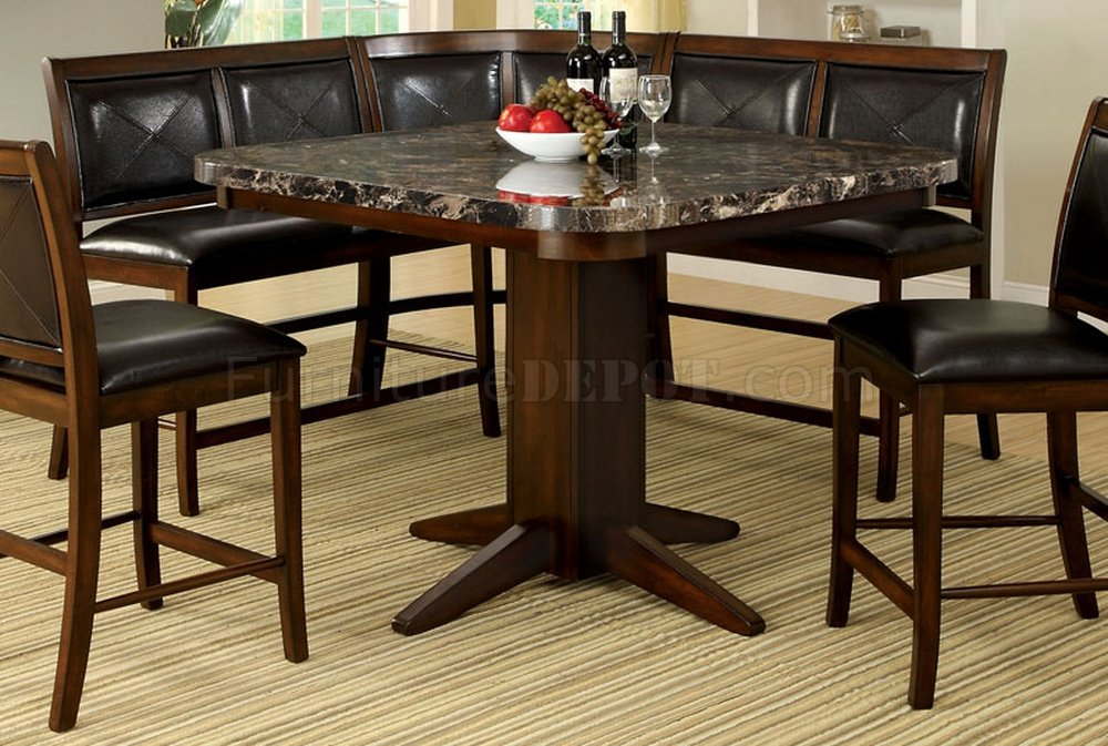 Cm3569pt Living Stone Ii Counter Height Dining Table W Options