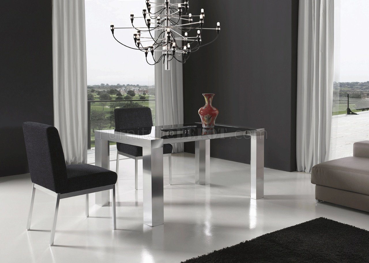 Leidy Dining Table W/Optional Lily Chairs By ESF