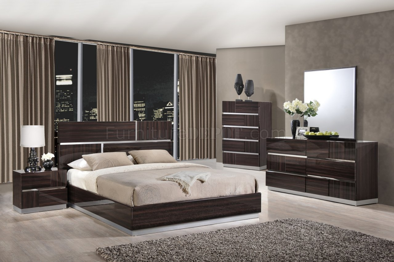 Tribeca Bedroom Global wOptional Casegoods – Chrome Bedroom Furniture
