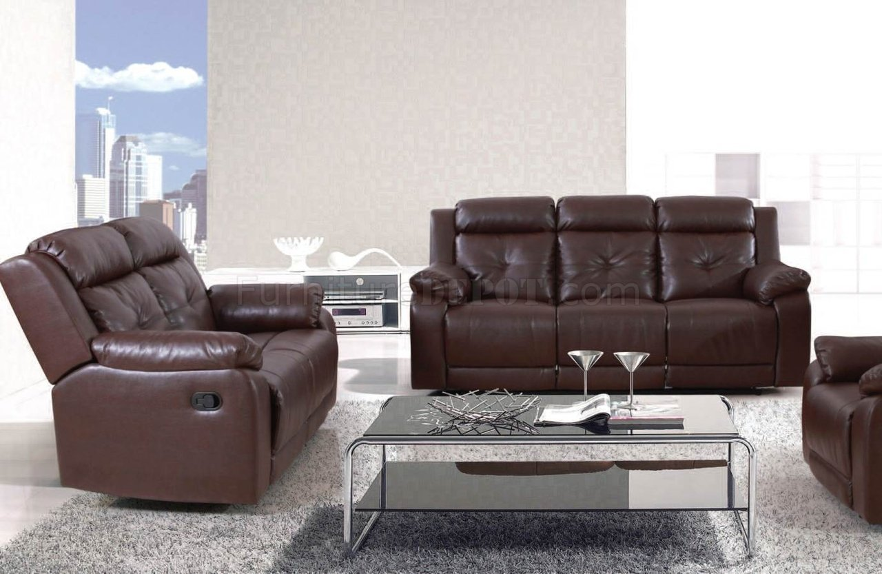 50520 Sherman Motion Sofa In Dark Brown By Acme W Options