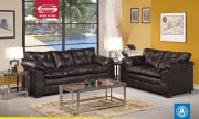 Onyx Bonded Leather 50350 Hayley Modern Sofa w/Options by Acme