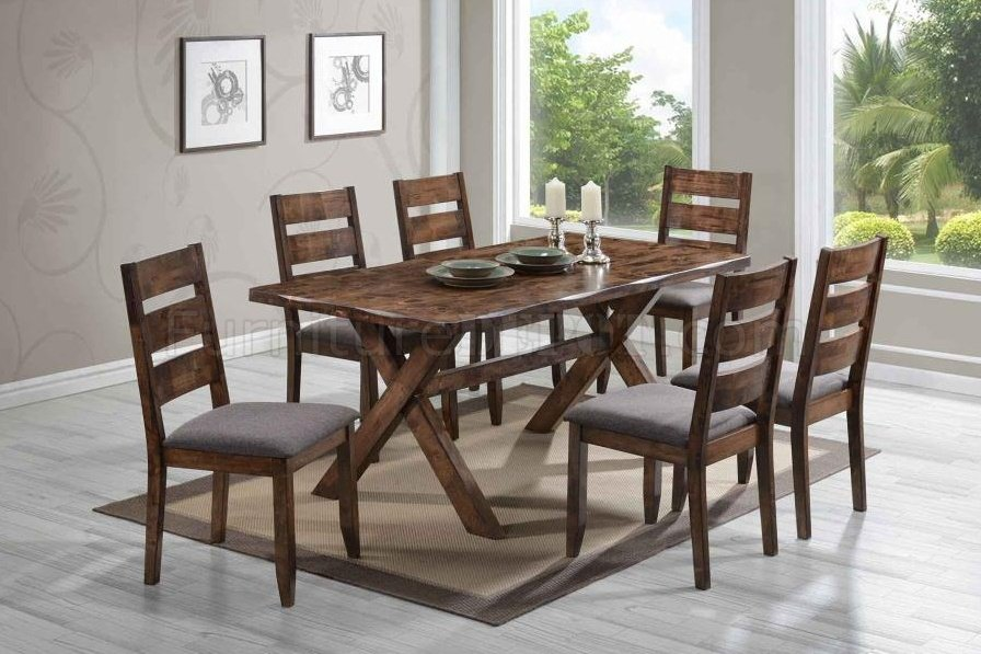 Alston 106381 Dining Set 5Pc By Coaster W Options CRDS 106381 Alston