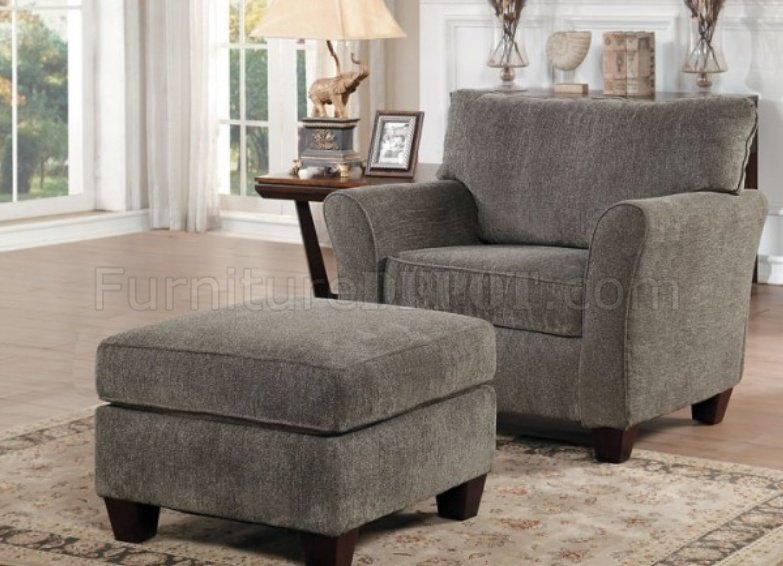 Alain Sofa 8225 In Grey Fabric By Homelegance W Options