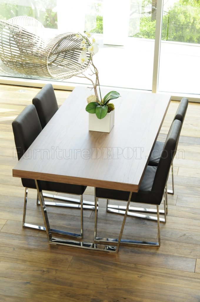 white dining table metal legs walnut espresso modern wooden iron wood