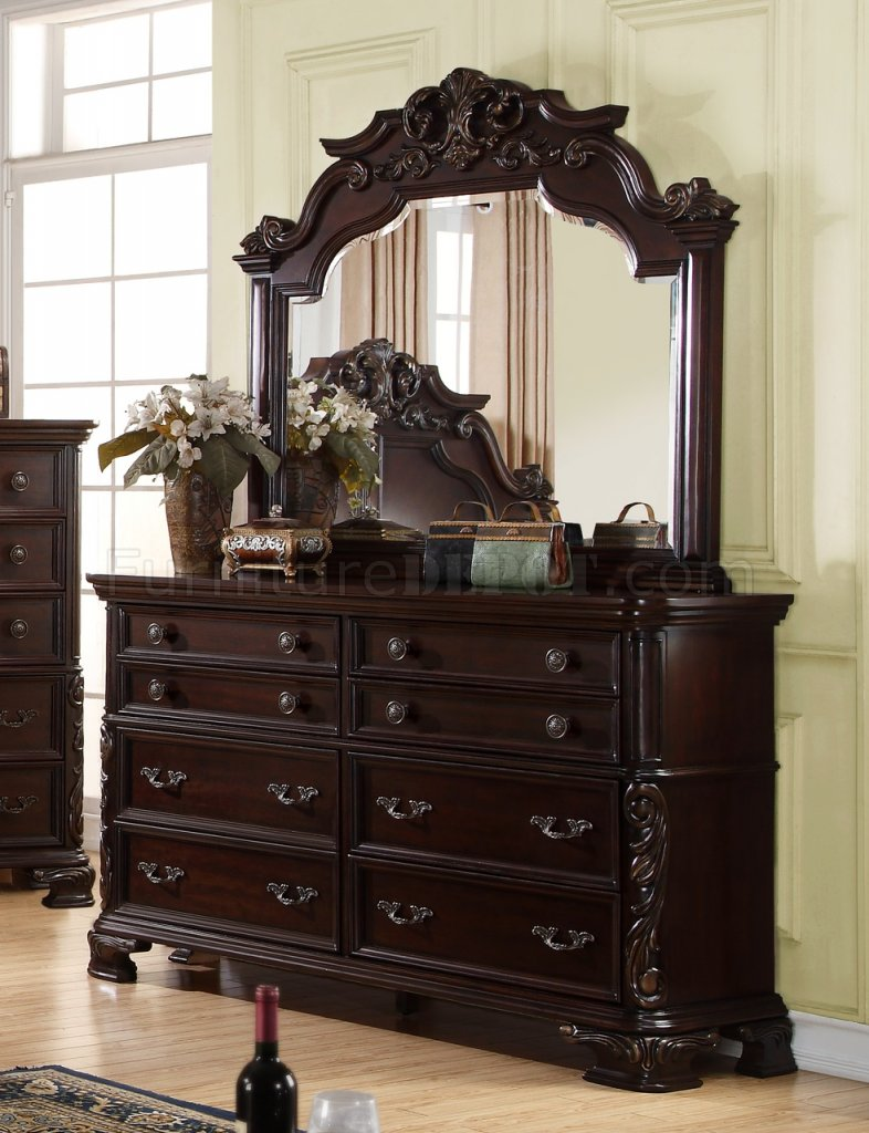 nadia traditional 5pc bedroom set w options