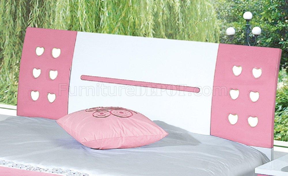YA102 Kids Bedroom in White & Pink by Pantek w/Options