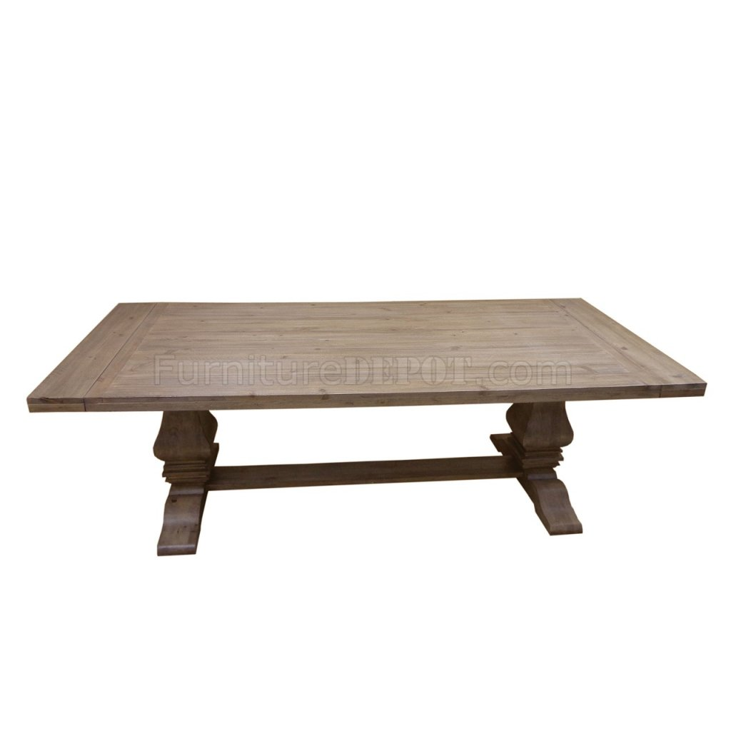 Florence 180201 Donny Osmond Dining Table In Natural Wood