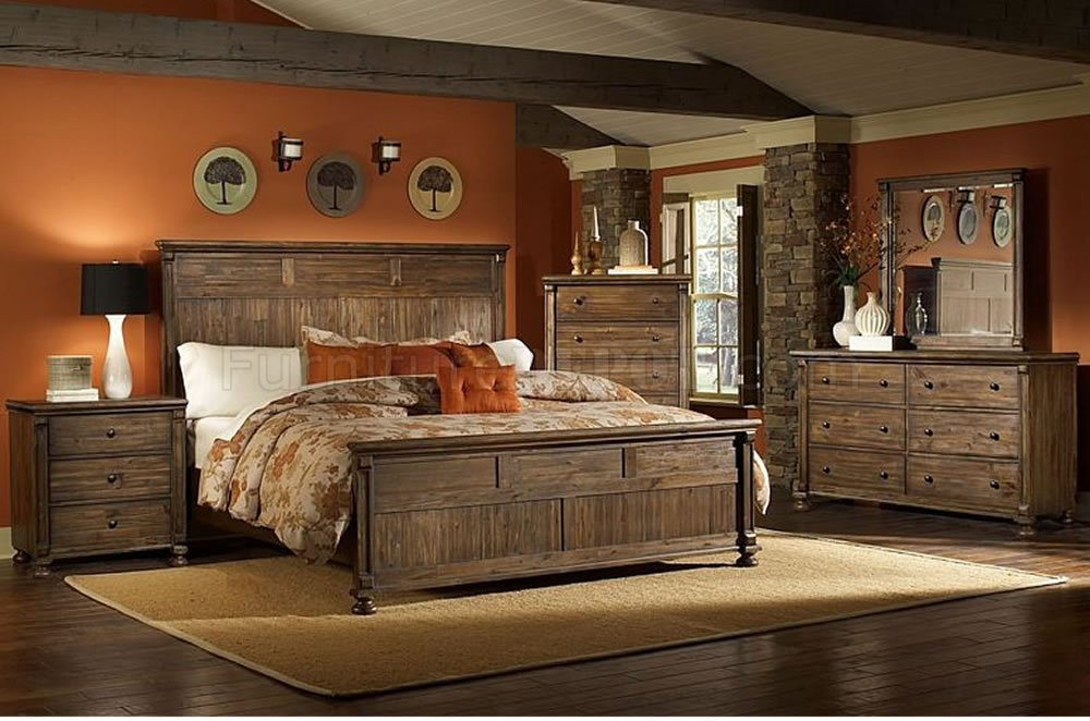 Rustic Bedroom Furniture At The Galleria