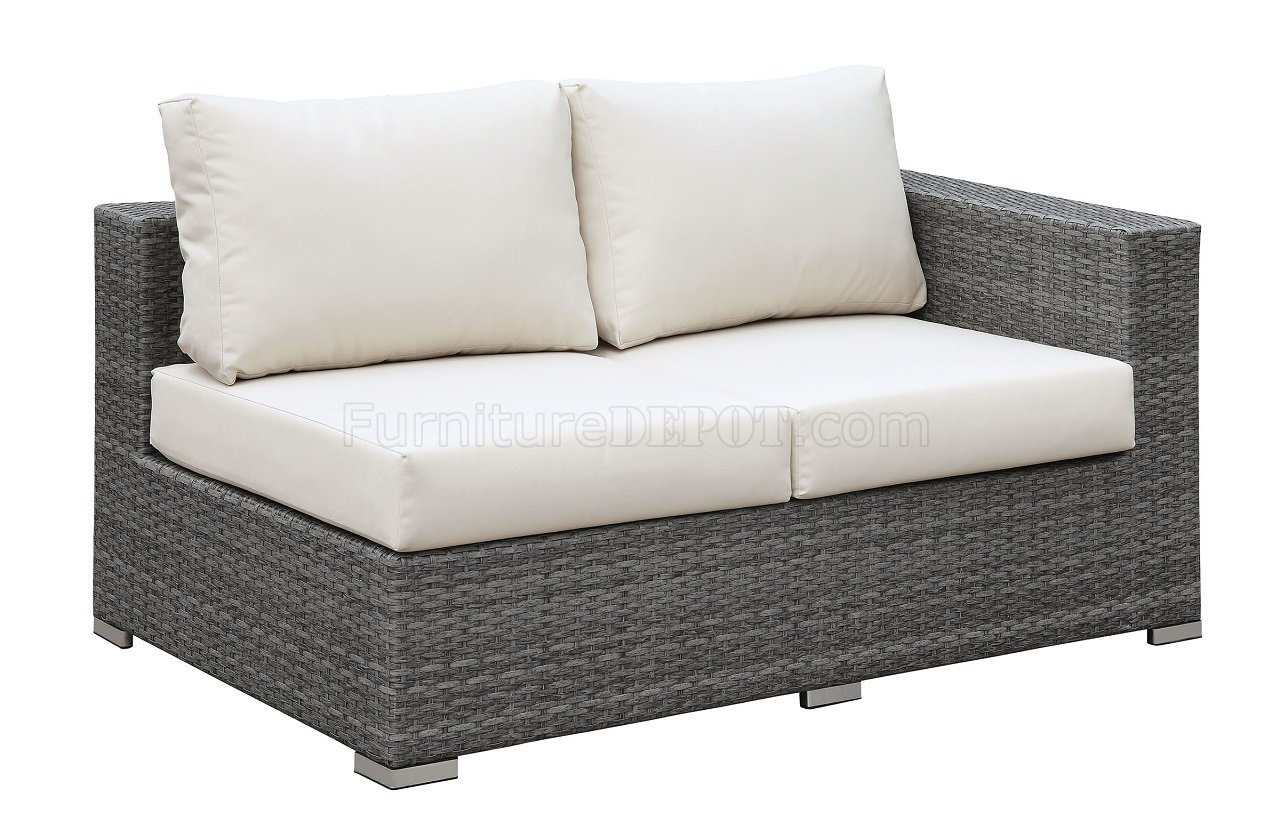 Somani Cm Os2128 10 Outdoor Patio L Shaped Sectional Sofa Set