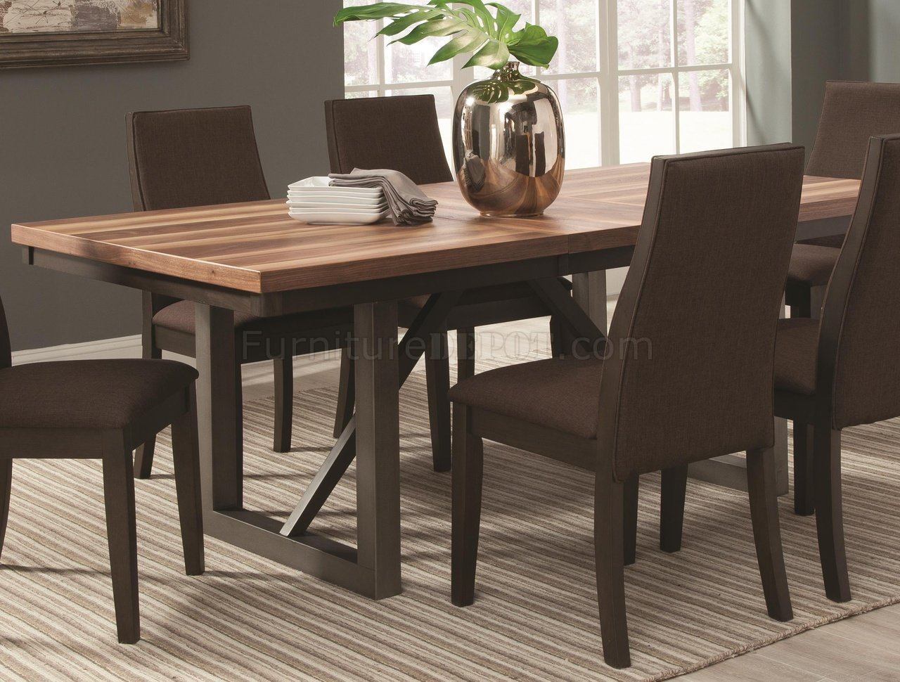 Spring Creek Dining Table 106581 By Coaster W/Optional Chairs
