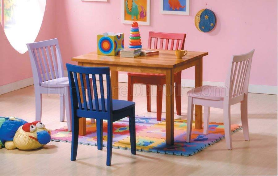 multi color kid 39 s dining set. Black Bedroom Furniture Sets. Home Design Ideas