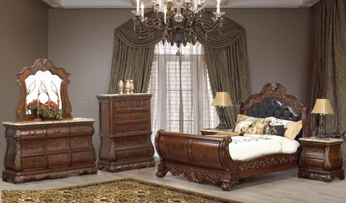 cleopatra milan bedroom 5pc set w options