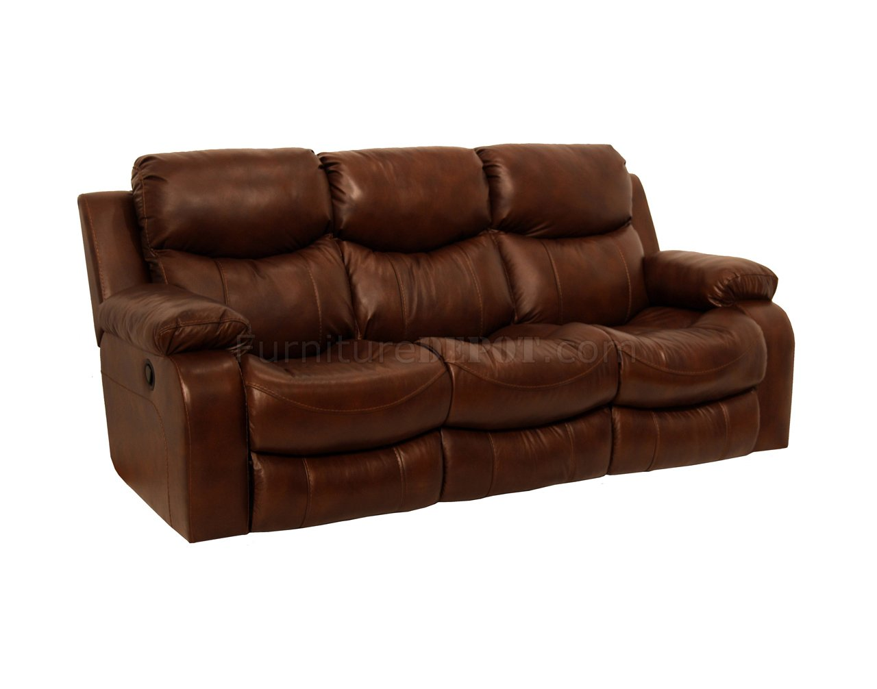 Catnapper Tobacco Top Grain Leather Dallas Motion Sofa W Options