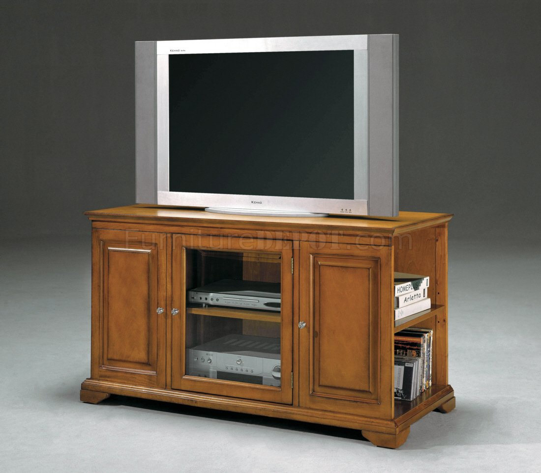 Modern Tv Storage Oak Finish Modern Tv Stand Wstorage Sides