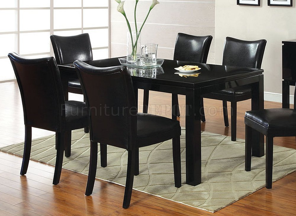 CM3176BK-T Lamia I Dining Table W/Optional Black Chairs
