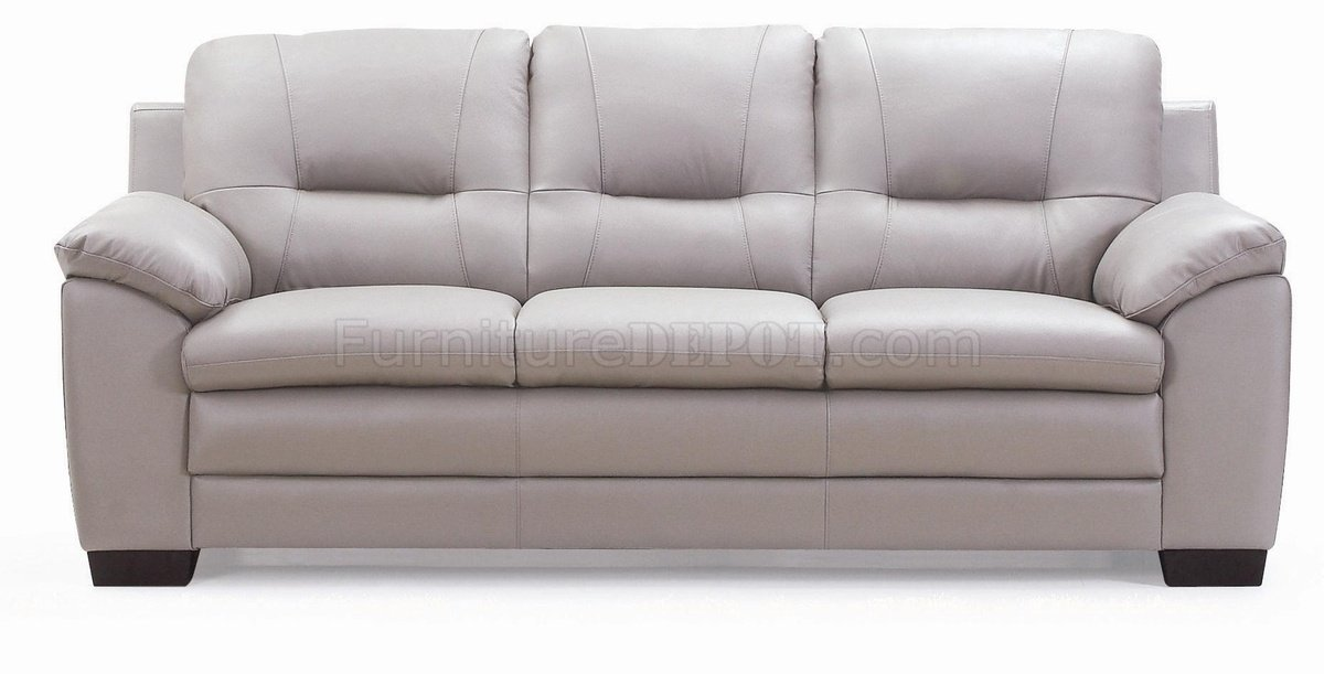 Light grey loveseat nockeby loveseat for Light gray leather sofa