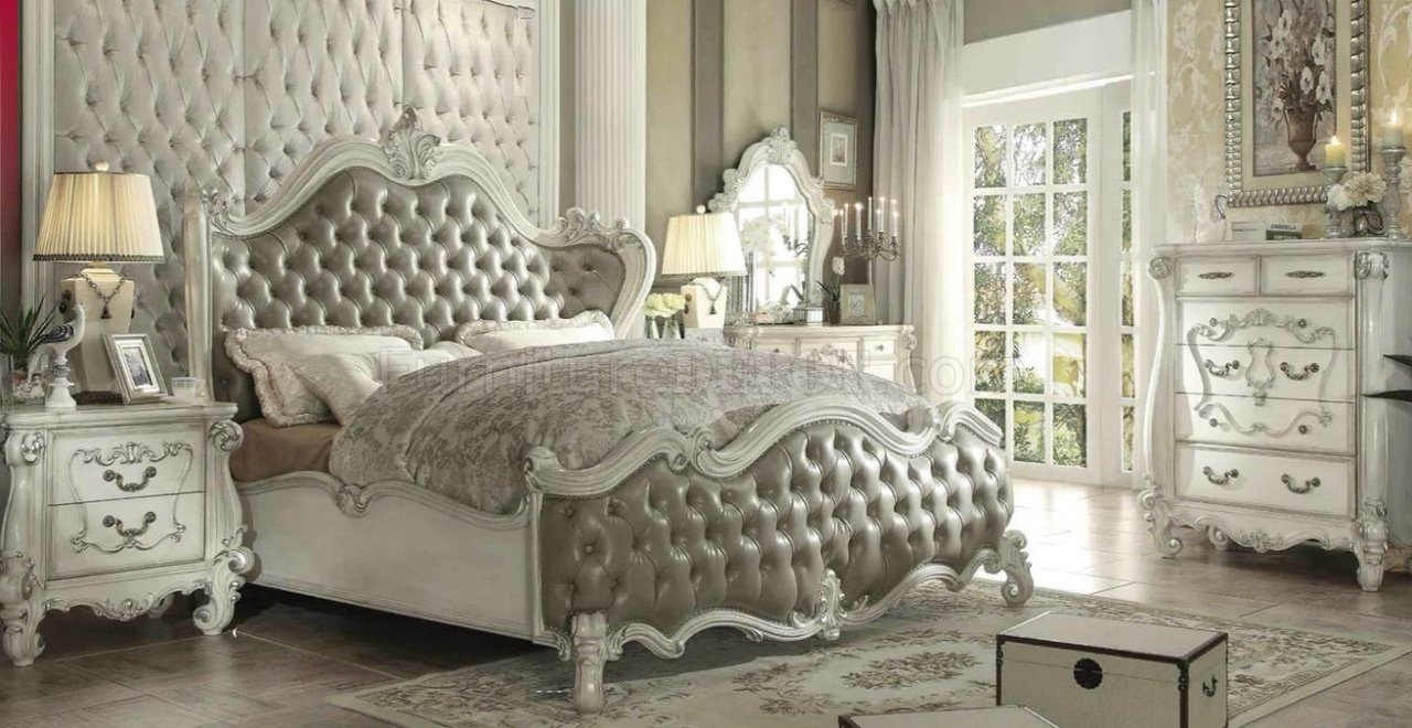 Versailles Bedroom Gray By Acme