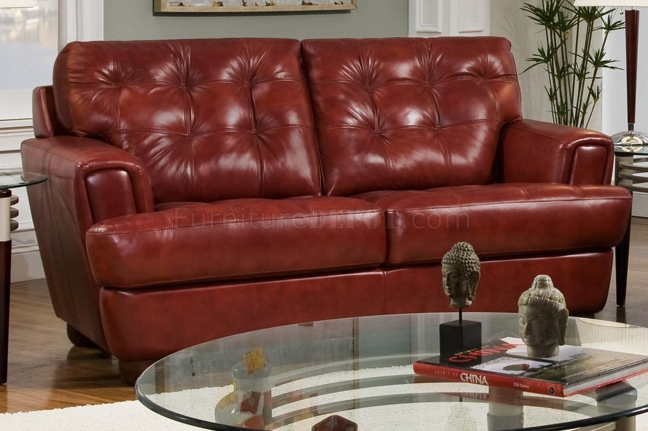Burgundy leather couch liege seater sofa with burgundy leather couch great montblock genuine Burgundy leather loveseat