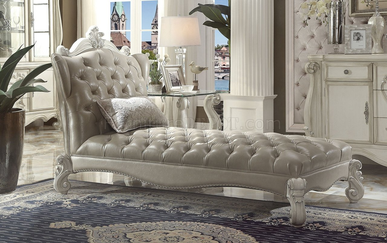 Versailles Bedroom In White Bone 21150 By Acme