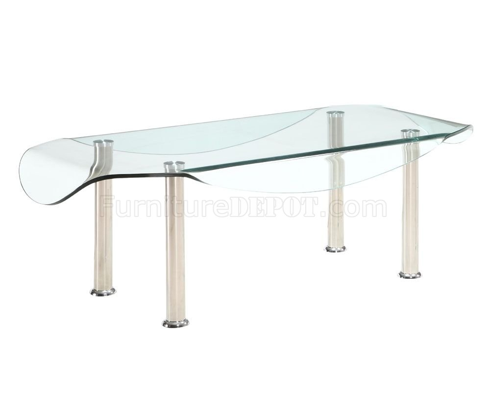 Glass top metal legs modern elegant coffee table w options Metal and glass coffee table