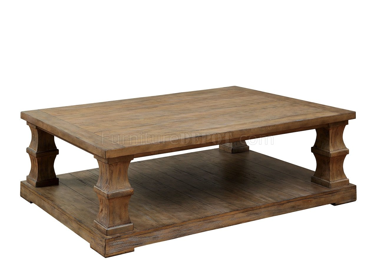 Granard Cm4457c Coffee Table W Natural Wooden Top Options