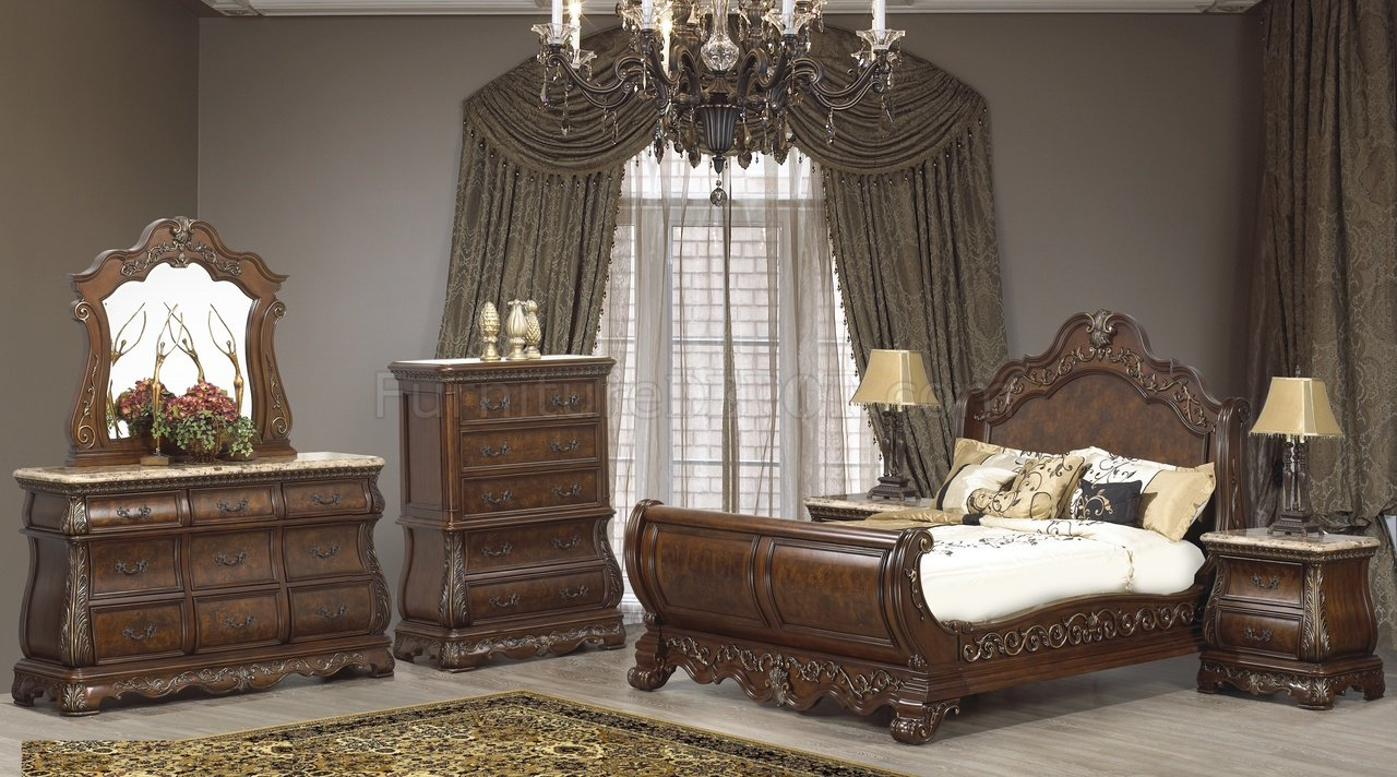 Cleopatra Florence Bedroom 5pc Set W Options