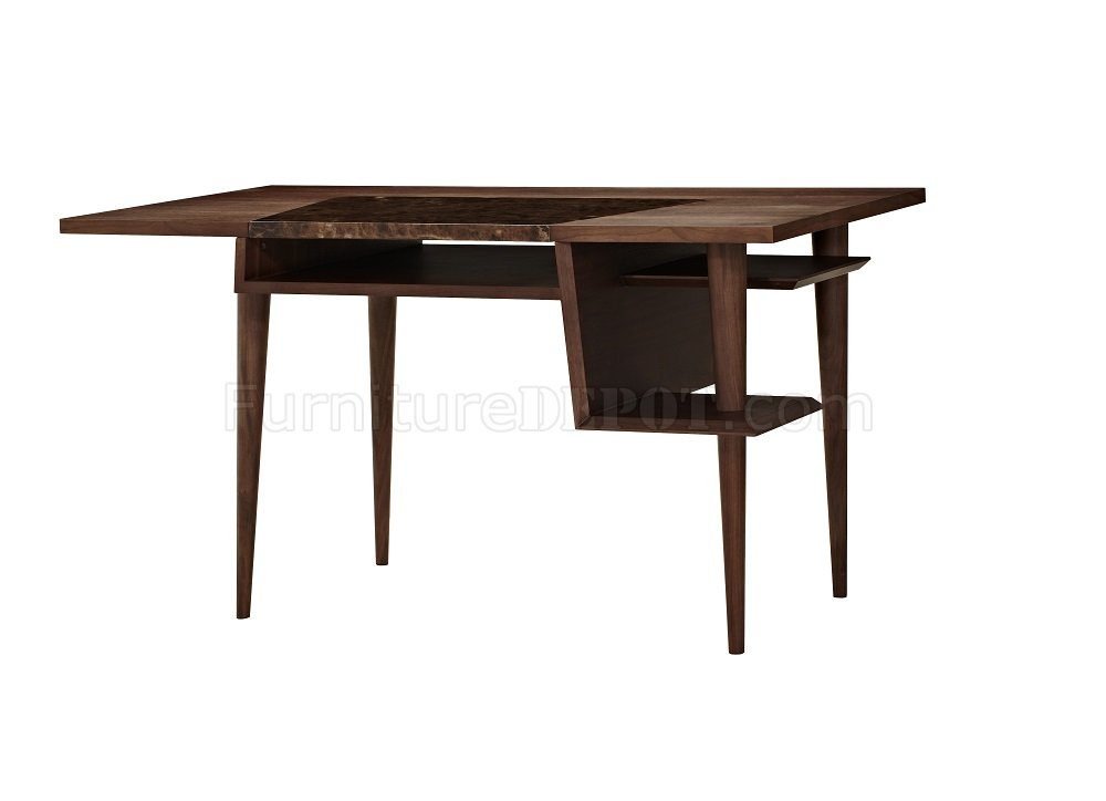 Codex modern office desk in walnut by j m - Walnut office desk ...