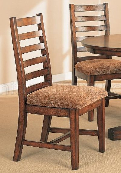 Distressed Walnut Dining Room Furniture W Round Table